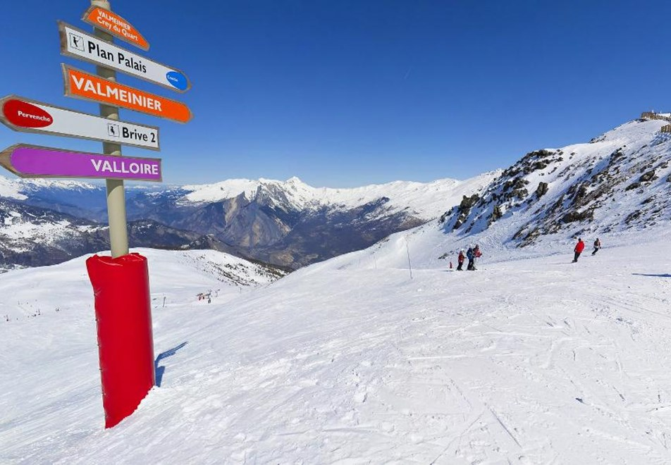 Valloire Ski Slopes