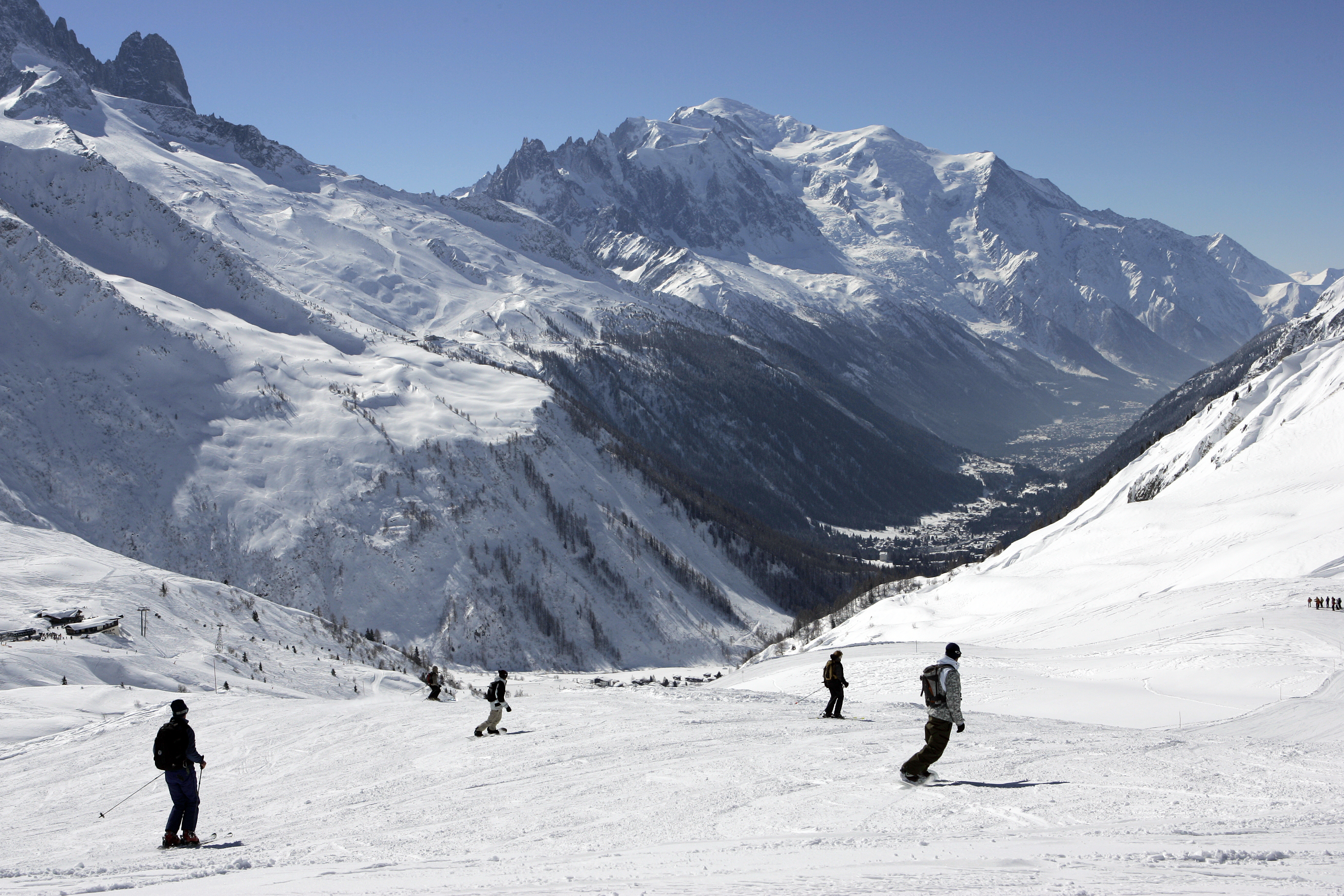 Vallorcine Ski Slopes