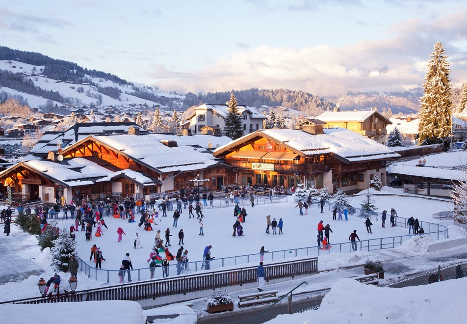 Megeve Ice Rink