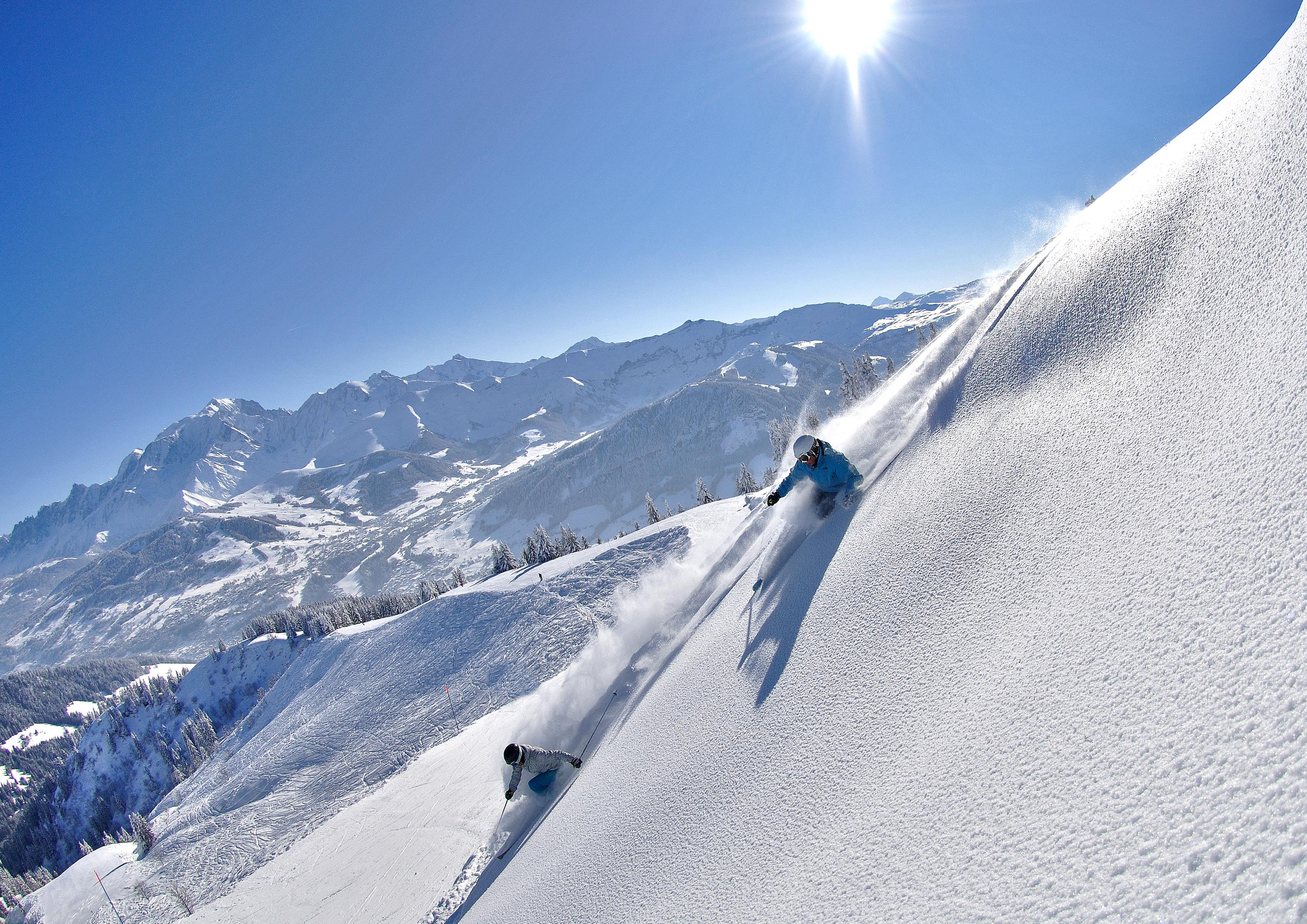Megeve Ski Slopes