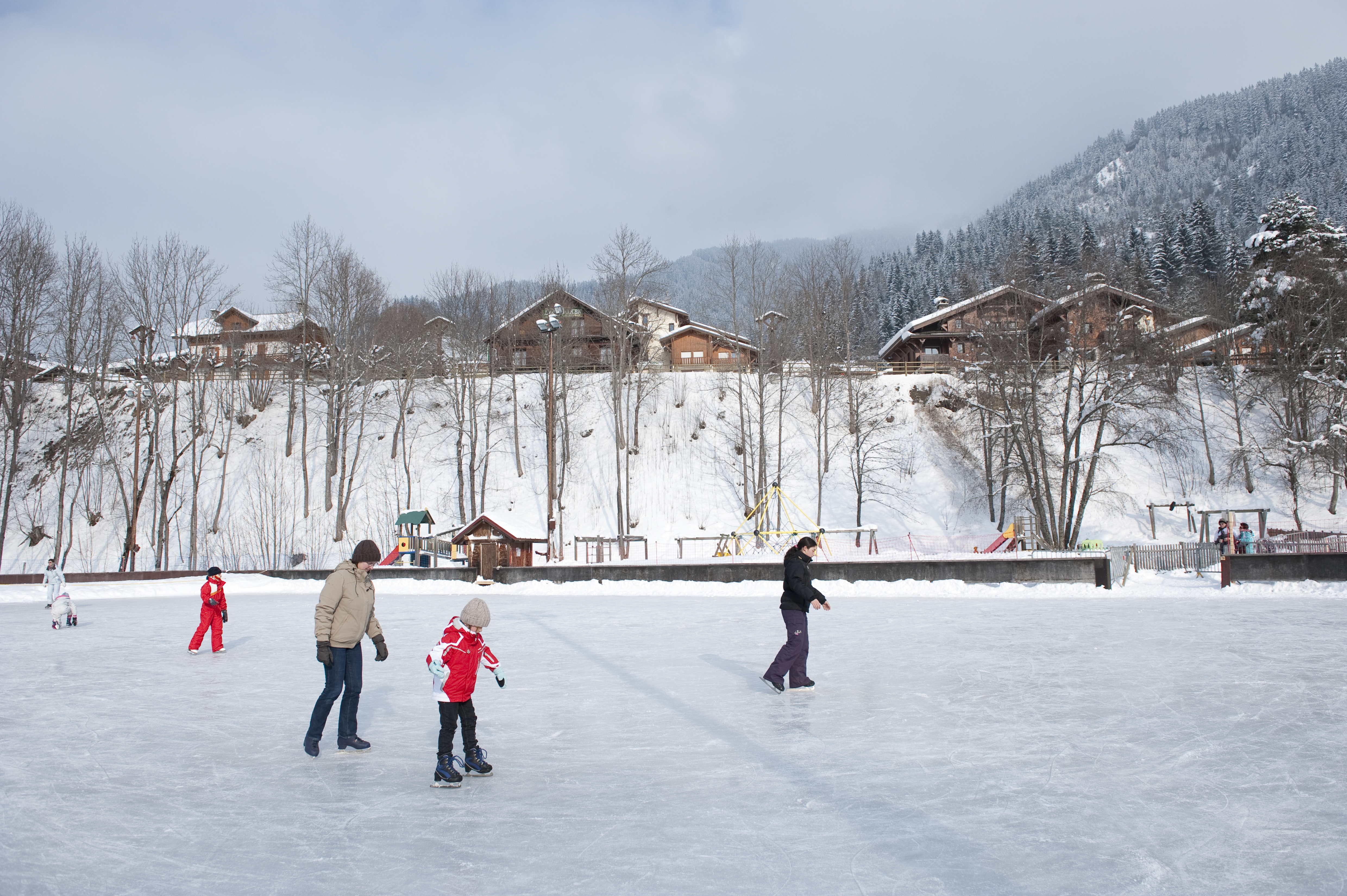 Les Contamines Ice Rink © (Gilles Lansard)