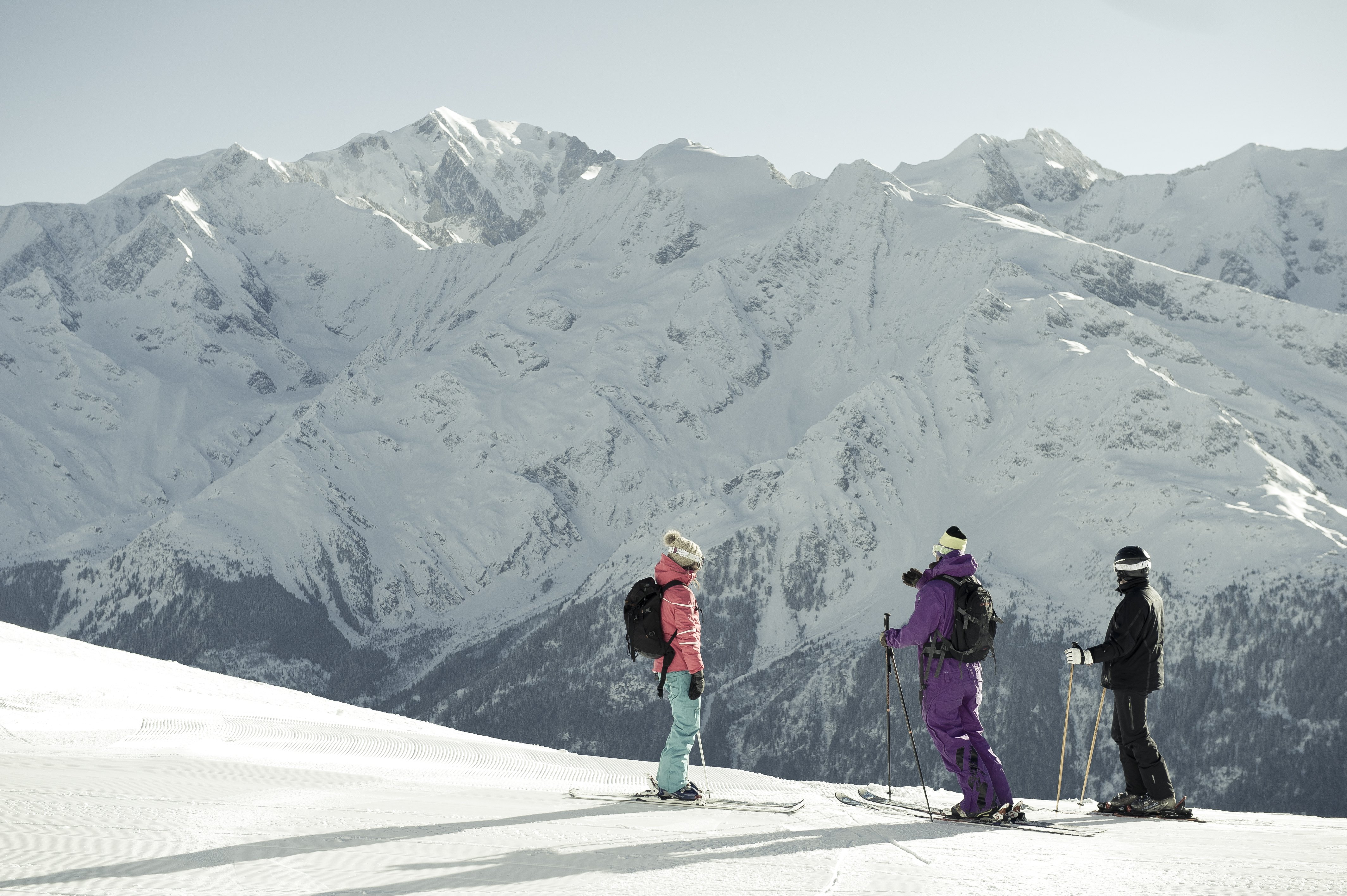 Les Contamines Ski Slopes © (N.JOLY)