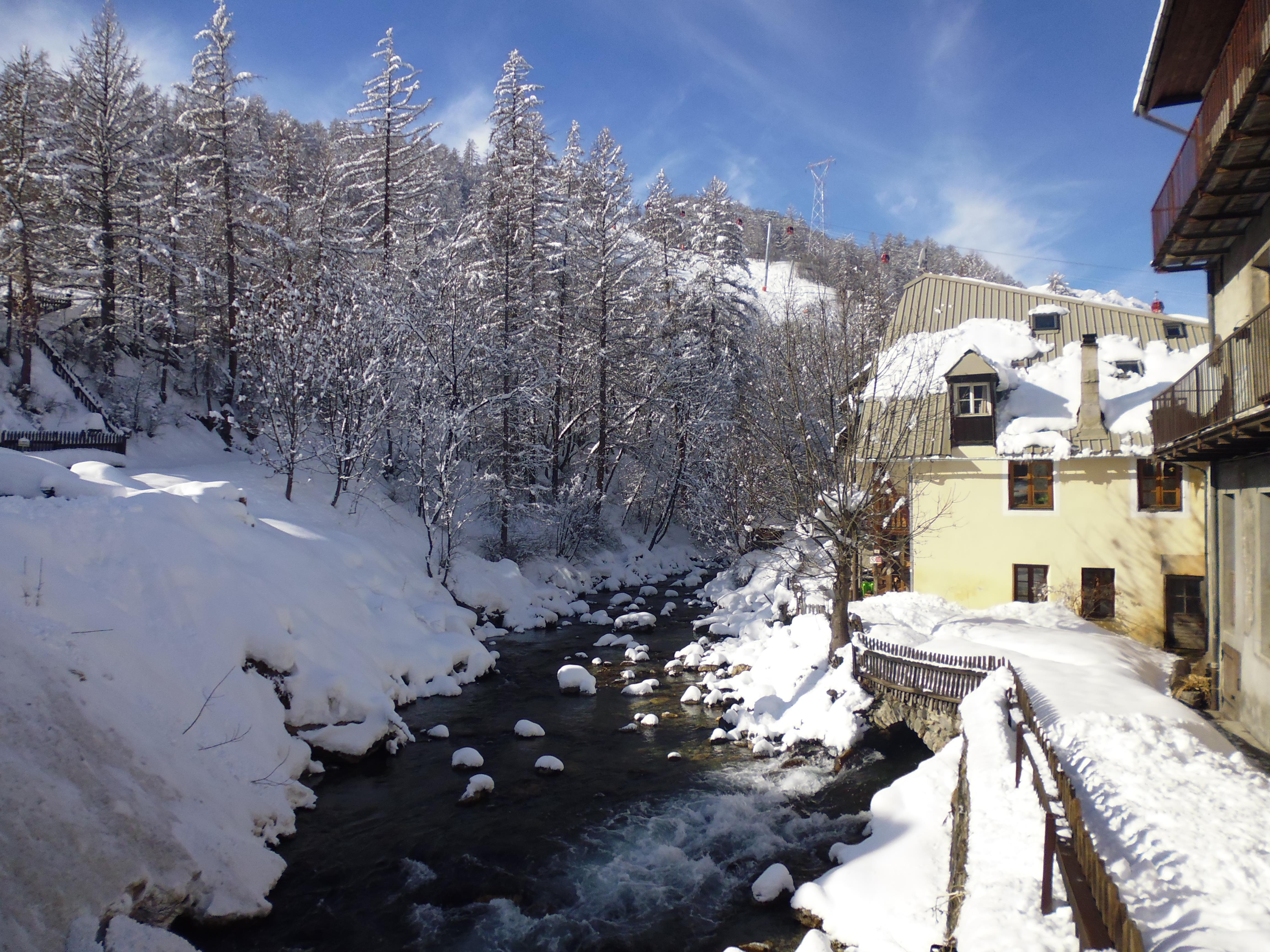 Serre Chevalier Chantmerle Village