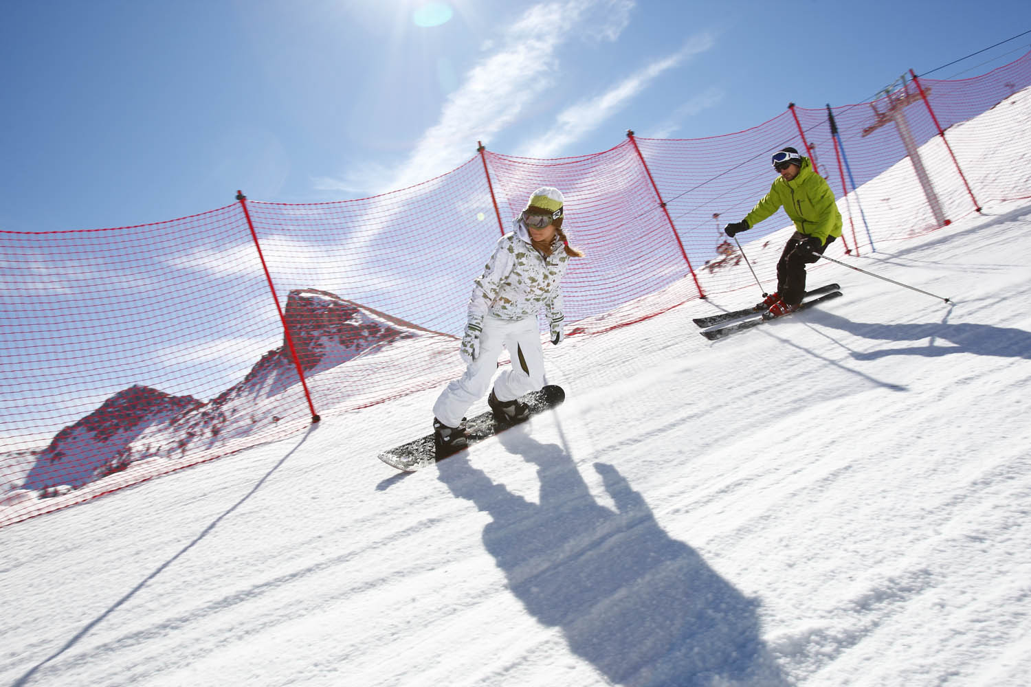 Briancon Ski Slopes