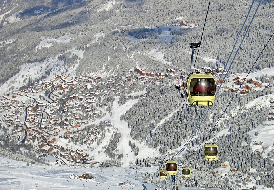 Meribel Ski Slopes