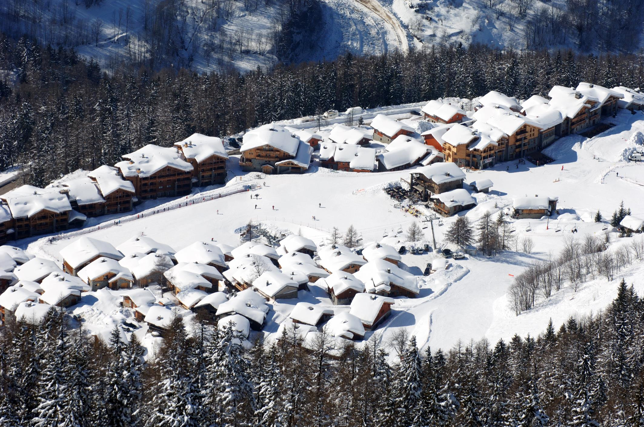 Ste Foy Ski Village © (P Royer)