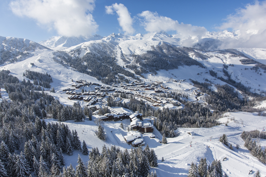 Valmorel Ski Slopes