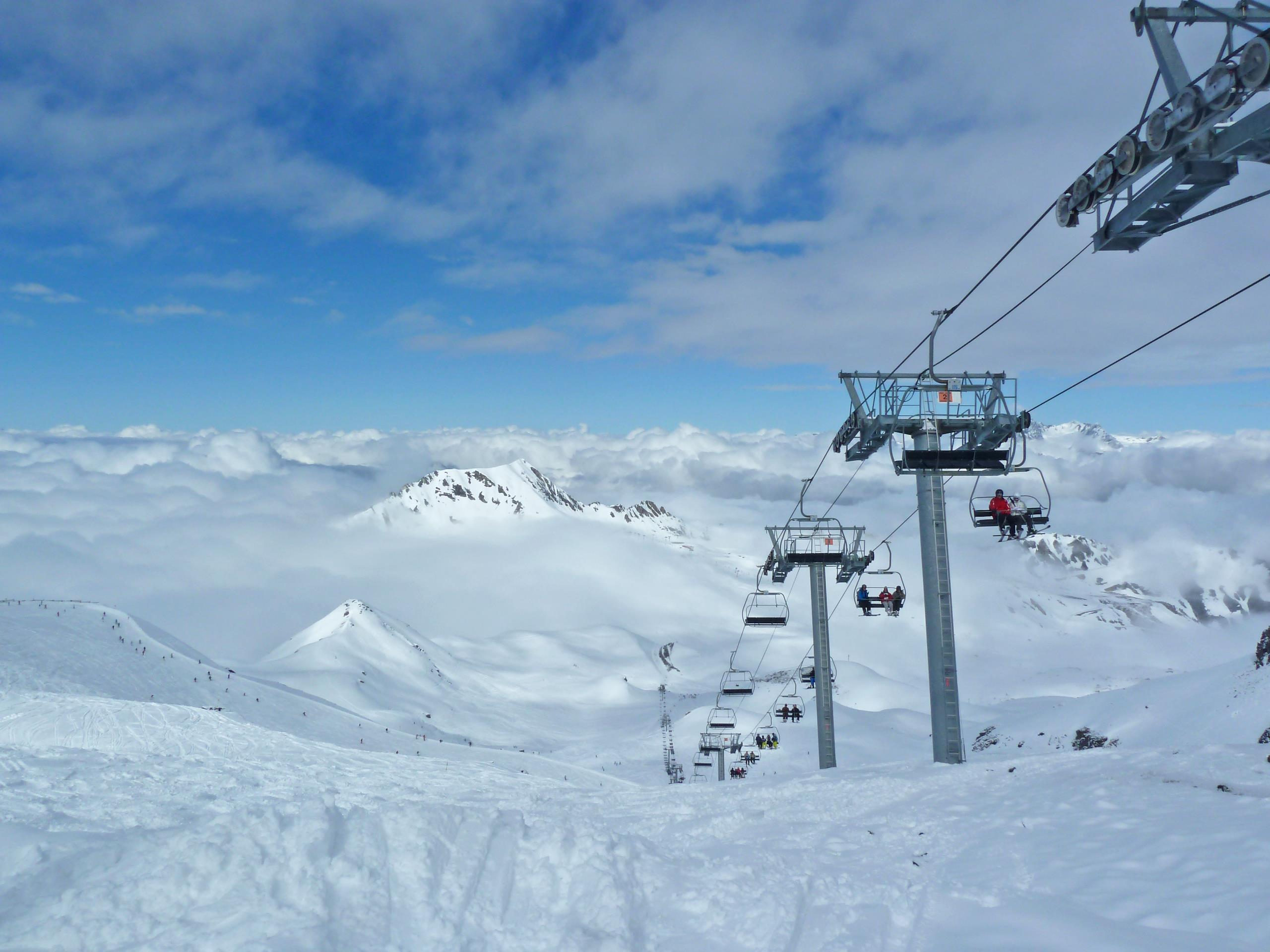 Paradiski Ski Slopes - Peisey Vallandry