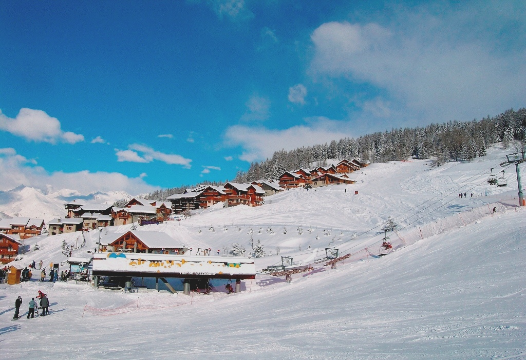 Vallandry Ski Slopes - Peisey Vallandry