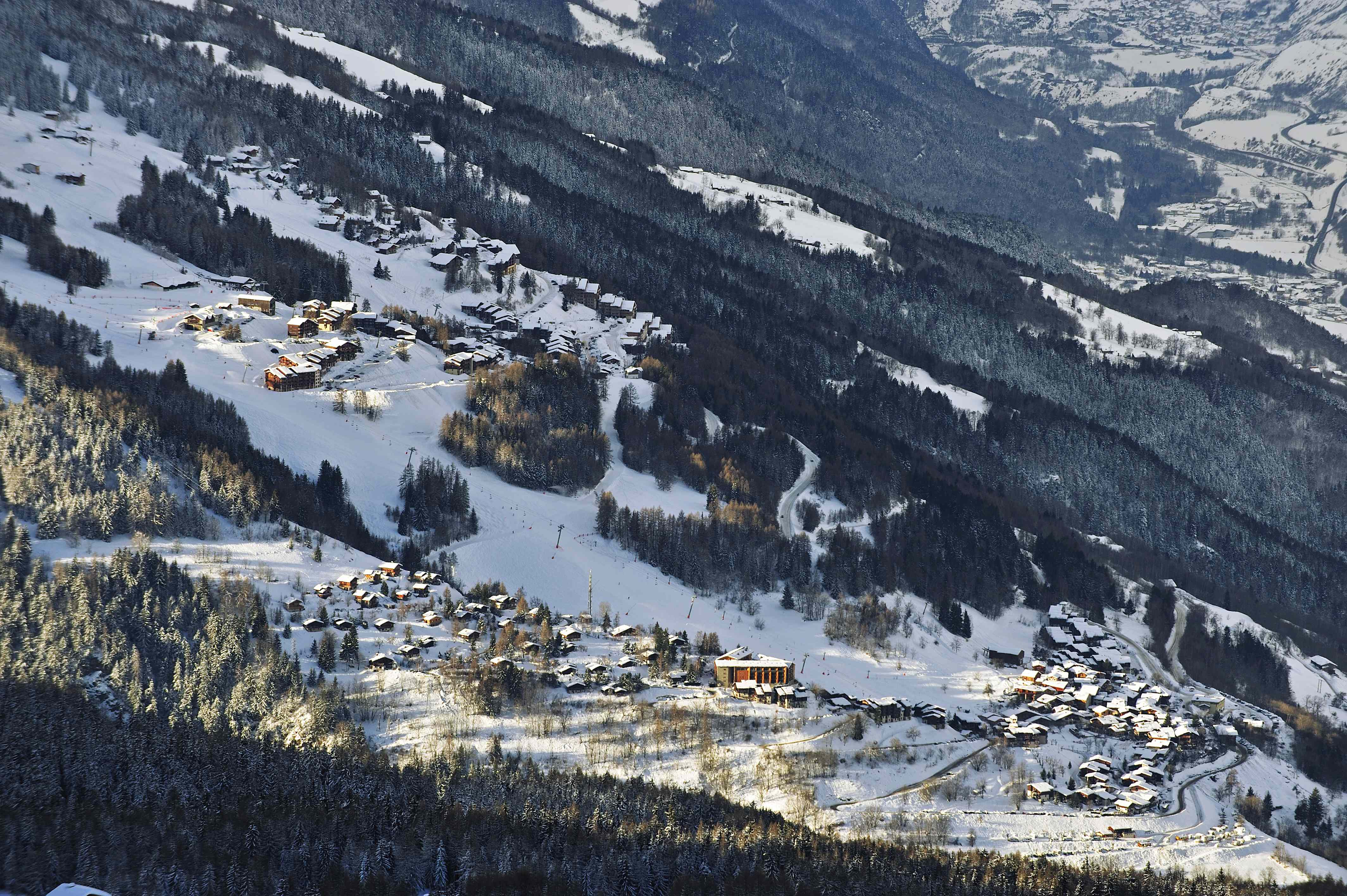 Les Coches Ski Slopes