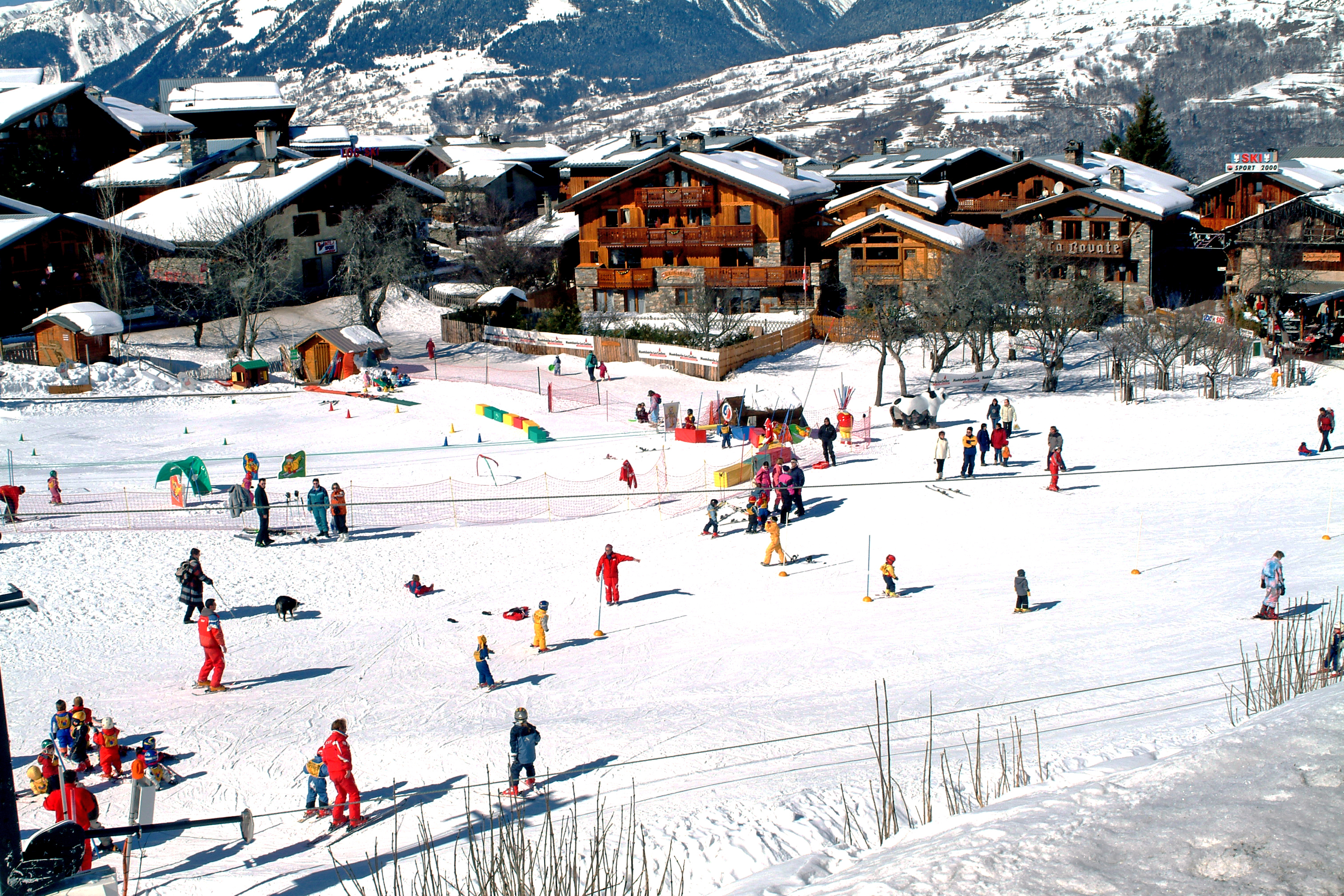 Les Coches Skiing Holidays Ski Apartments Peak Retreats