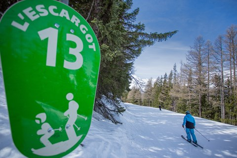 The longest green run in the world is in Val Cenis