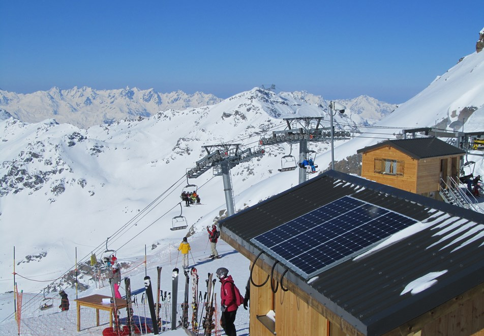 Orelle Ski Slopes