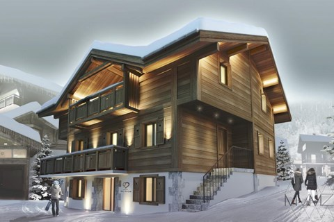 Le Chalet, La Clusaz (B&B chalet) - Artists Impression