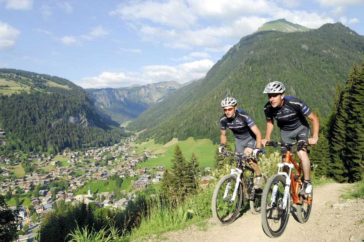 Chatel Moutain Biking