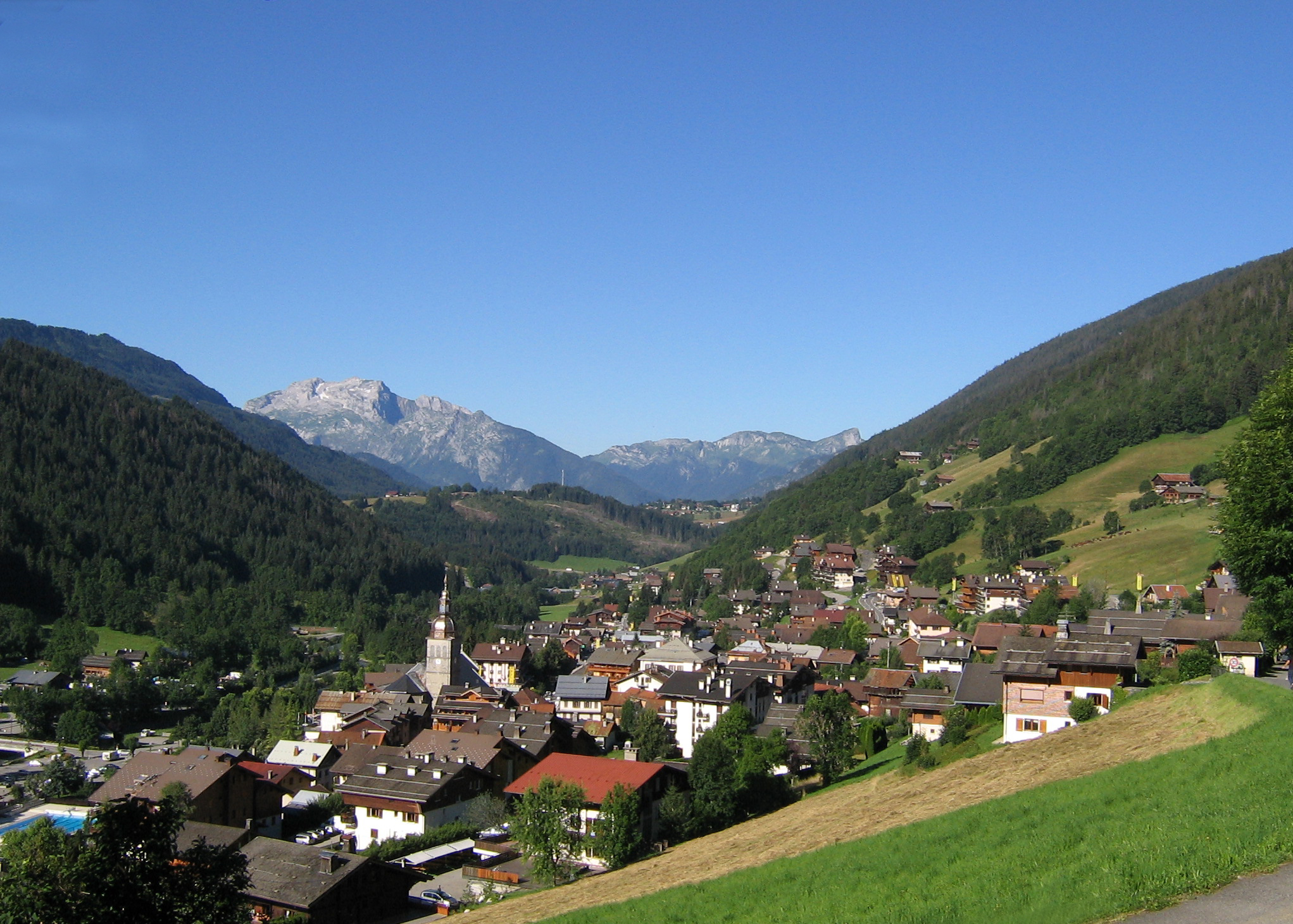 Le Grand Bornand Village © (Monique Lucchesi)