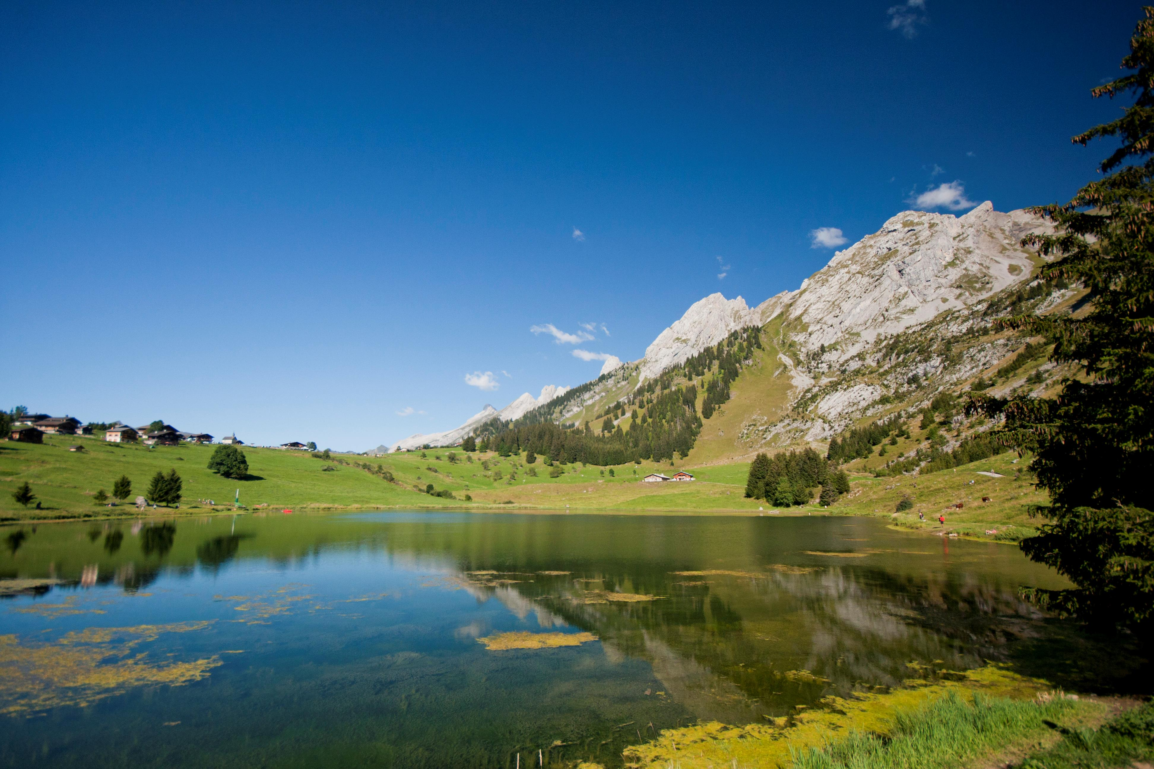 la clusaz summer holidays lakes mountains peak retreats