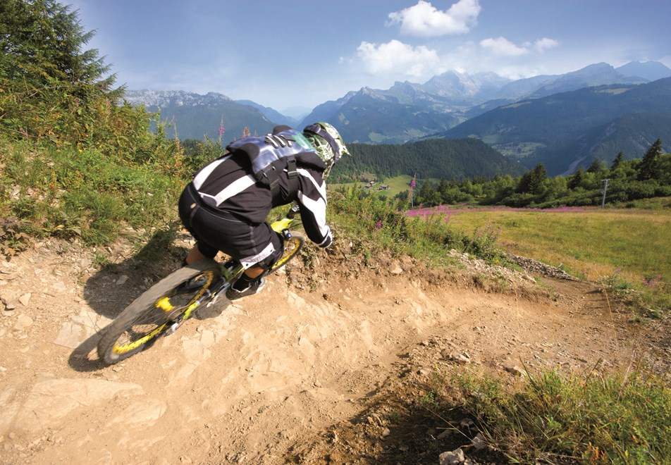 La Clusaz Mountain biking
