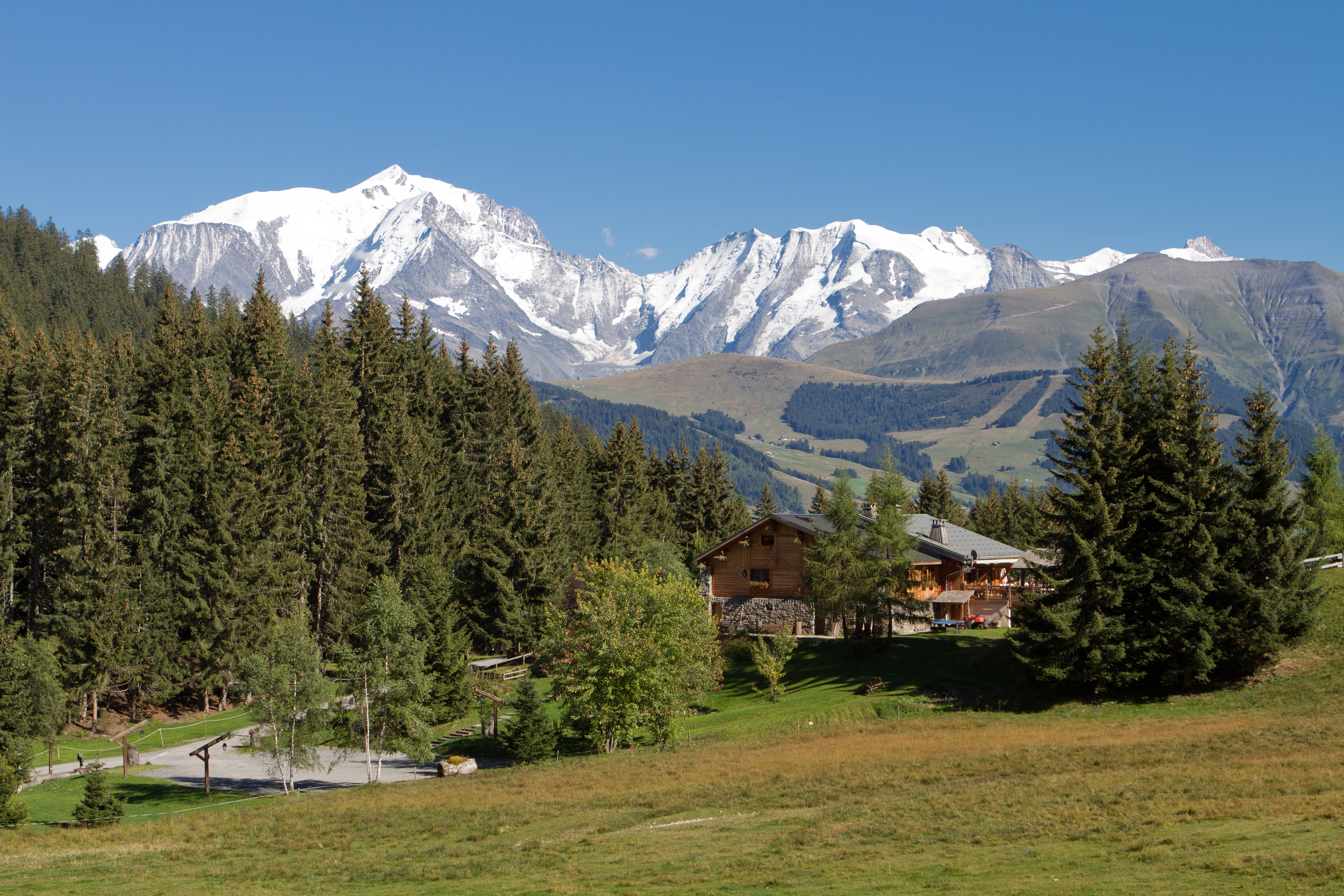 Megeve Mountains