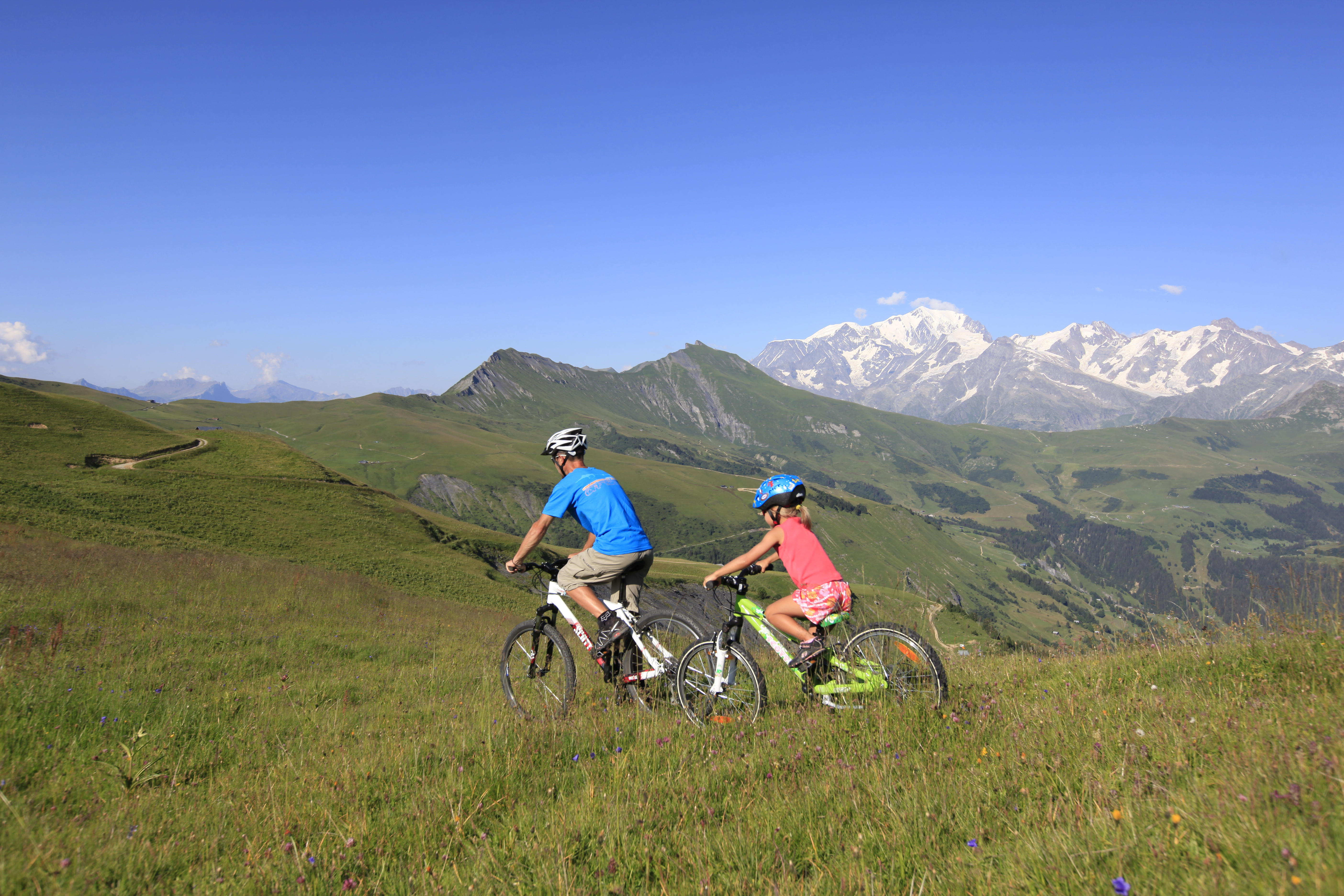 Les Saisies Mountains Biking