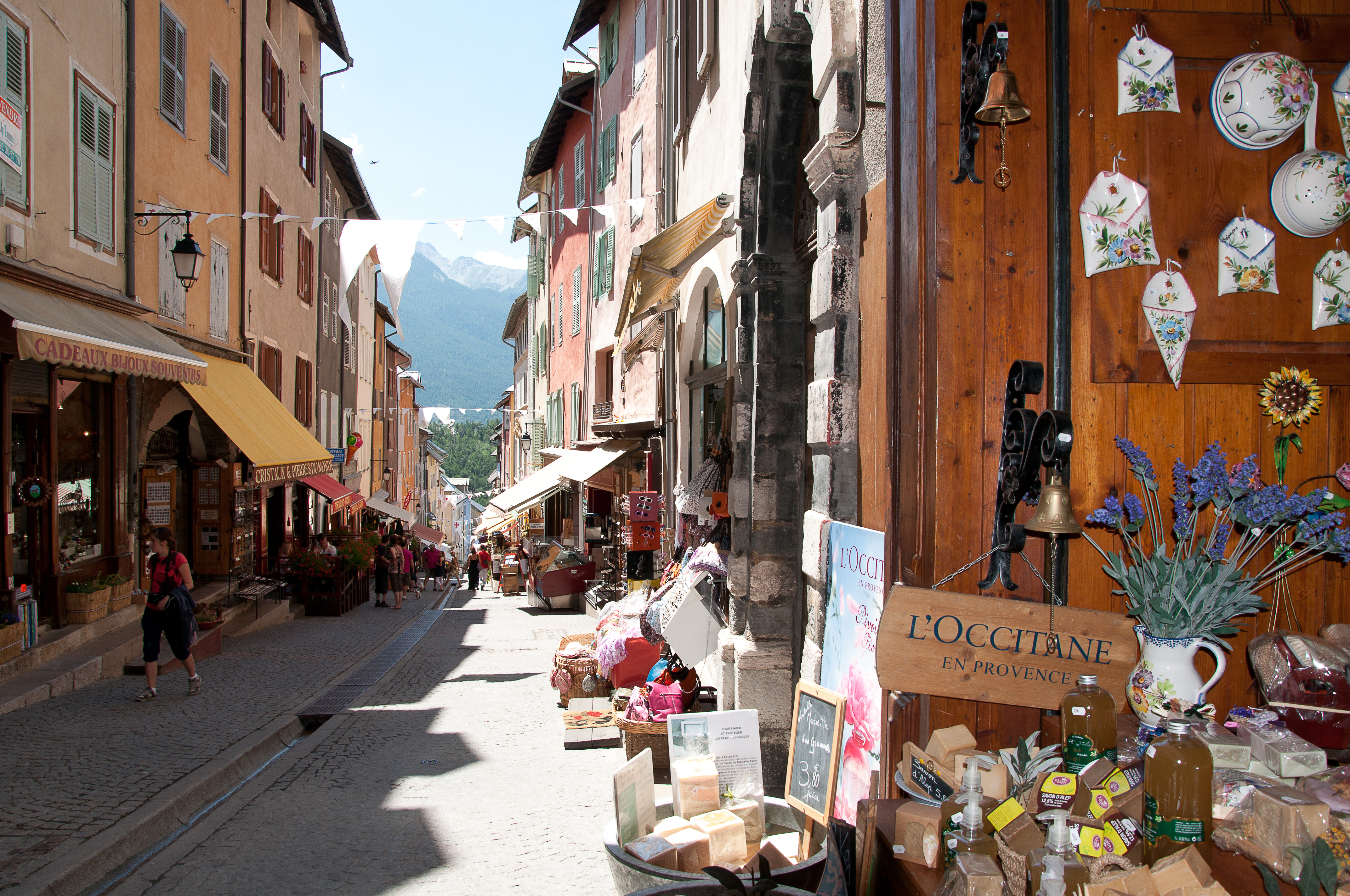 Briancon town centre