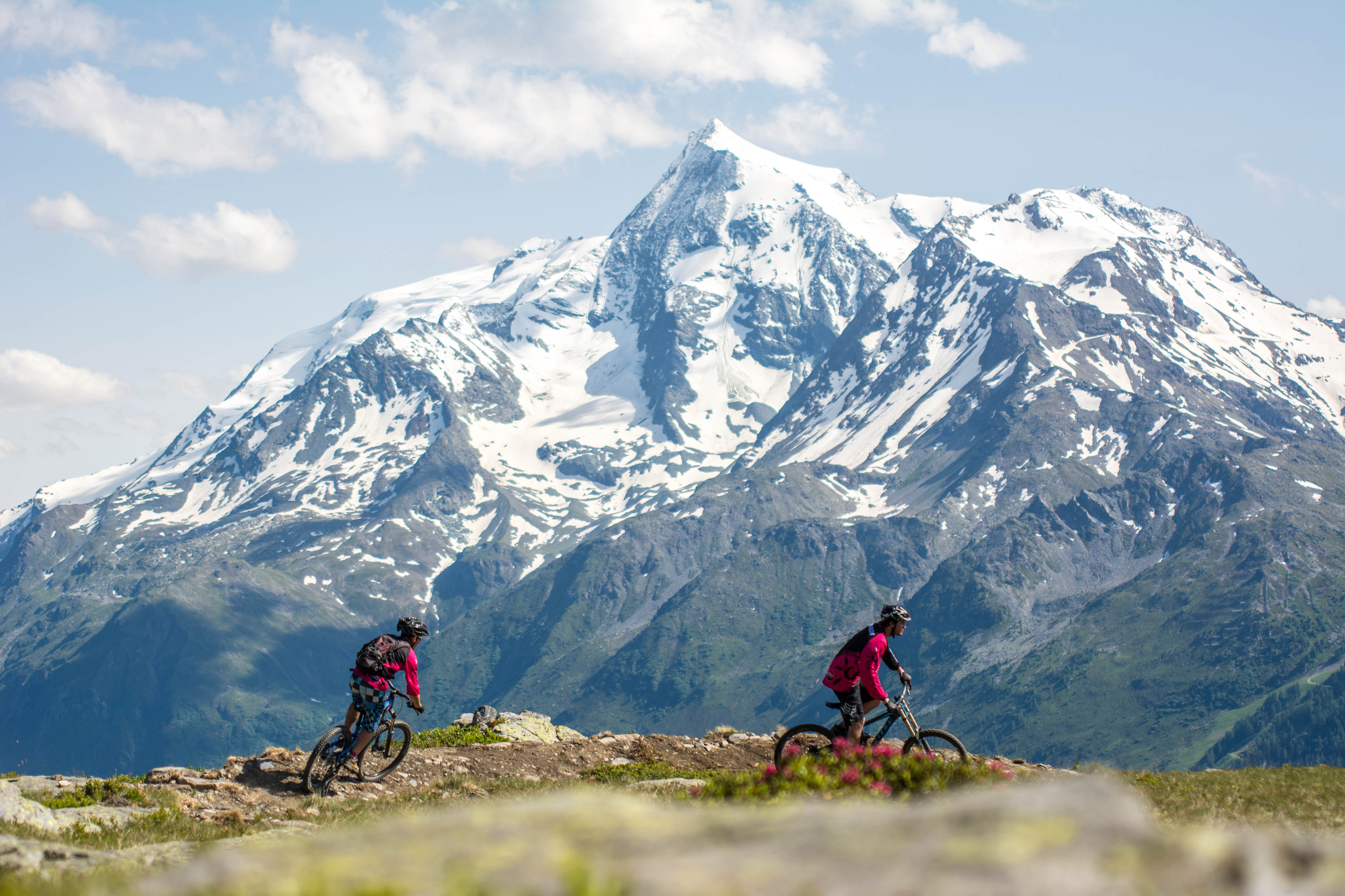 La Rosiere Ete Mountain Biking