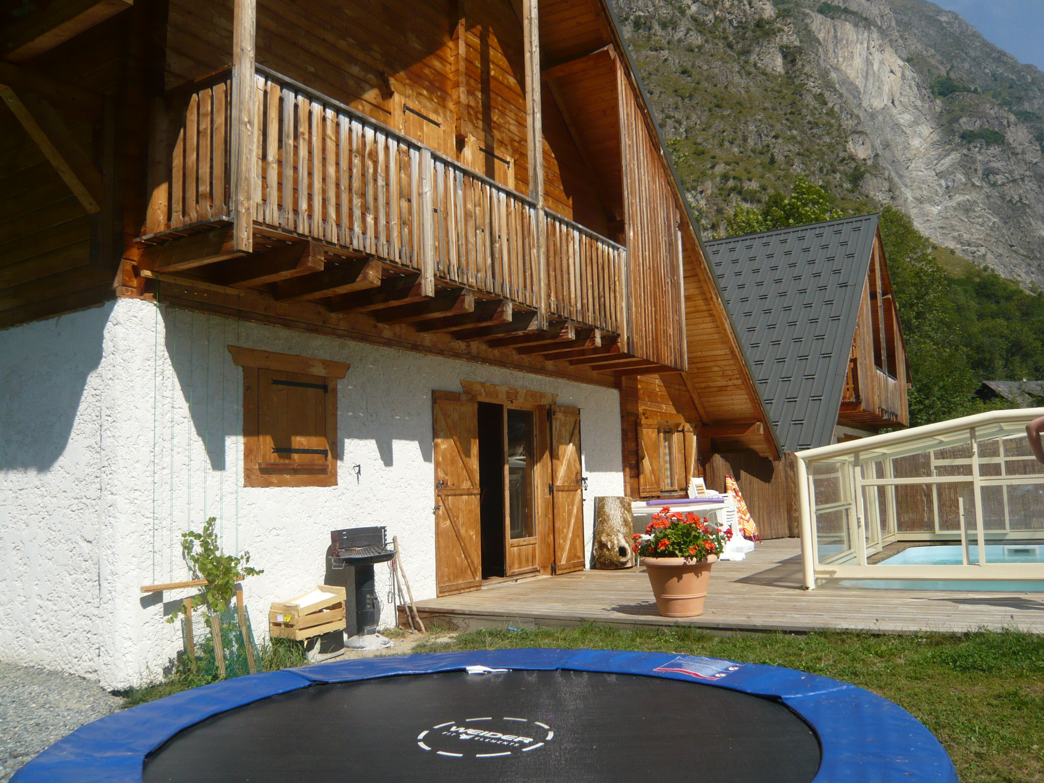 Le Planet I & II, Venosc (self catered chalets) - Terrace