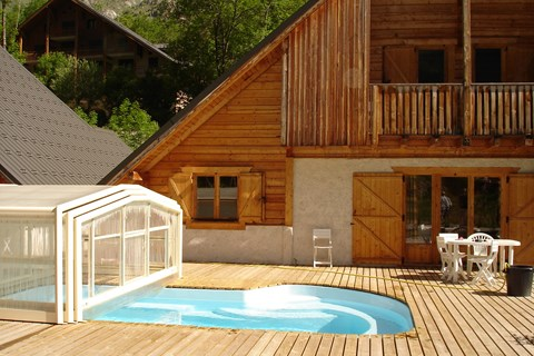 Le Planet I & II, Venosc (self catered chalets) - Pool
