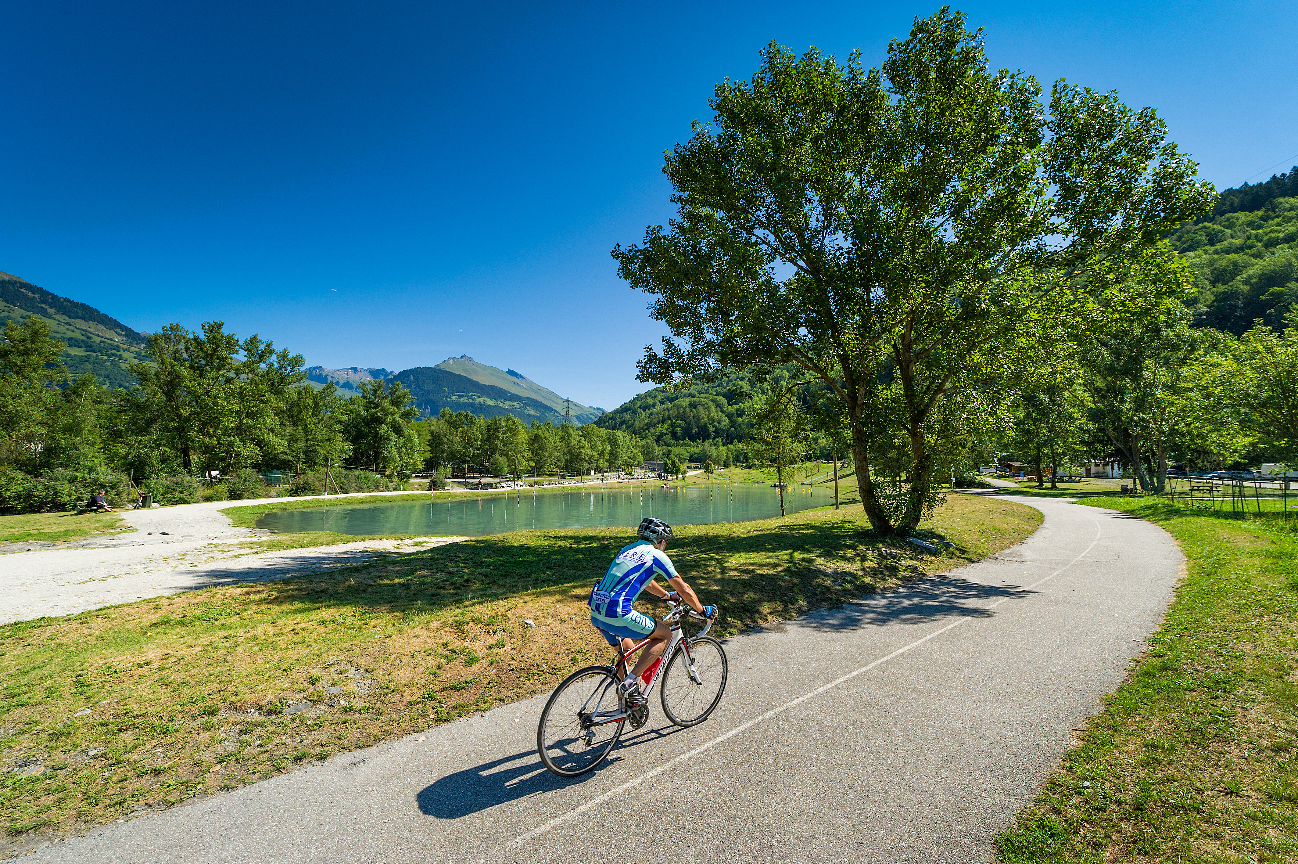 Bourg St Maurice Vanoise cycling