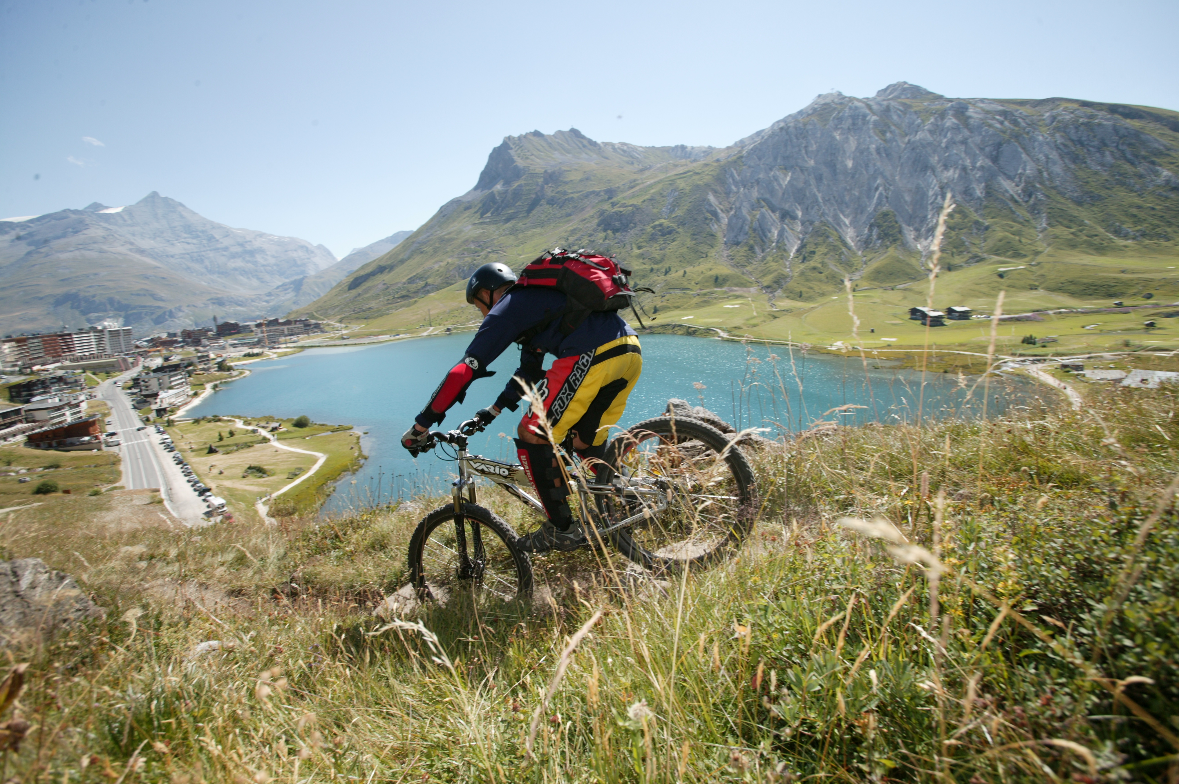 Tignes Mountain Biking © (Monica Dalmasso)