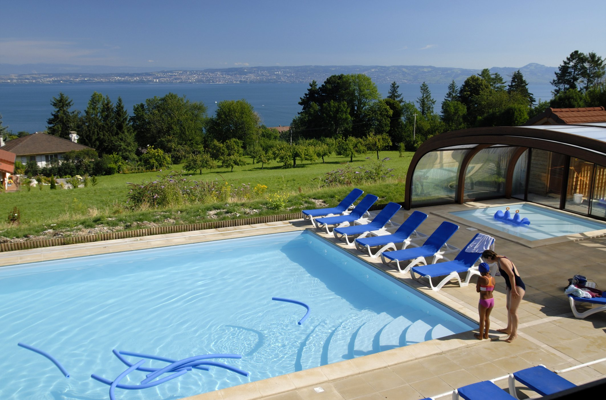 Les Chalets d Evian (Evian) Outdoor Pool