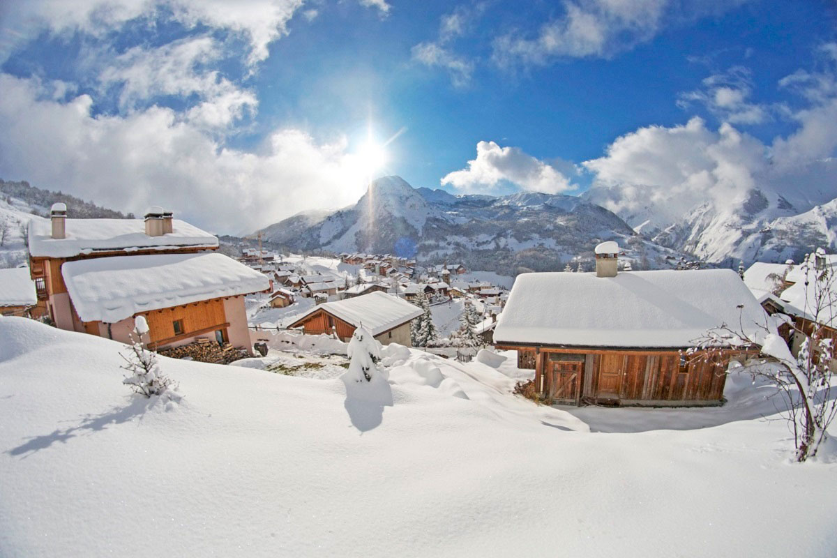 Saint Martin ski village, 3 Valleys