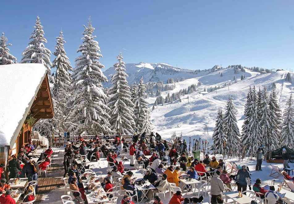 Mountain Restaurant in Morillon