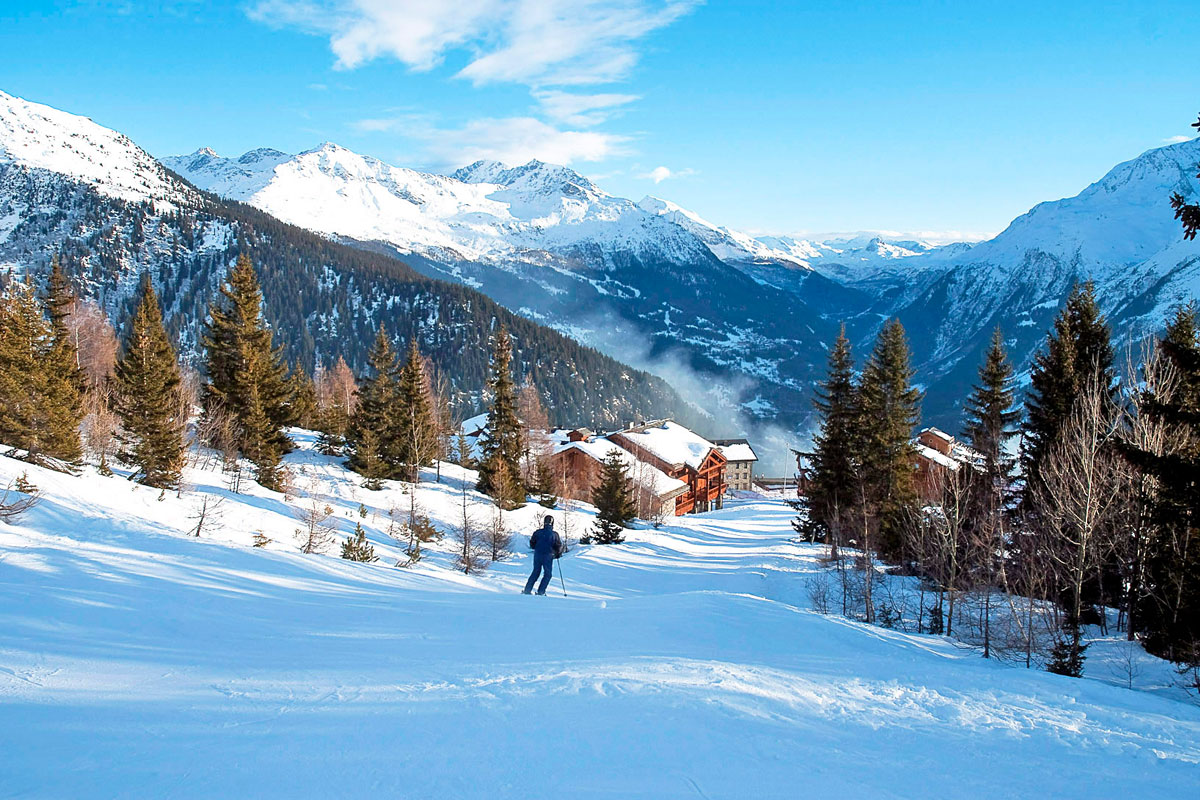 La Rosiere Ski Slopes
