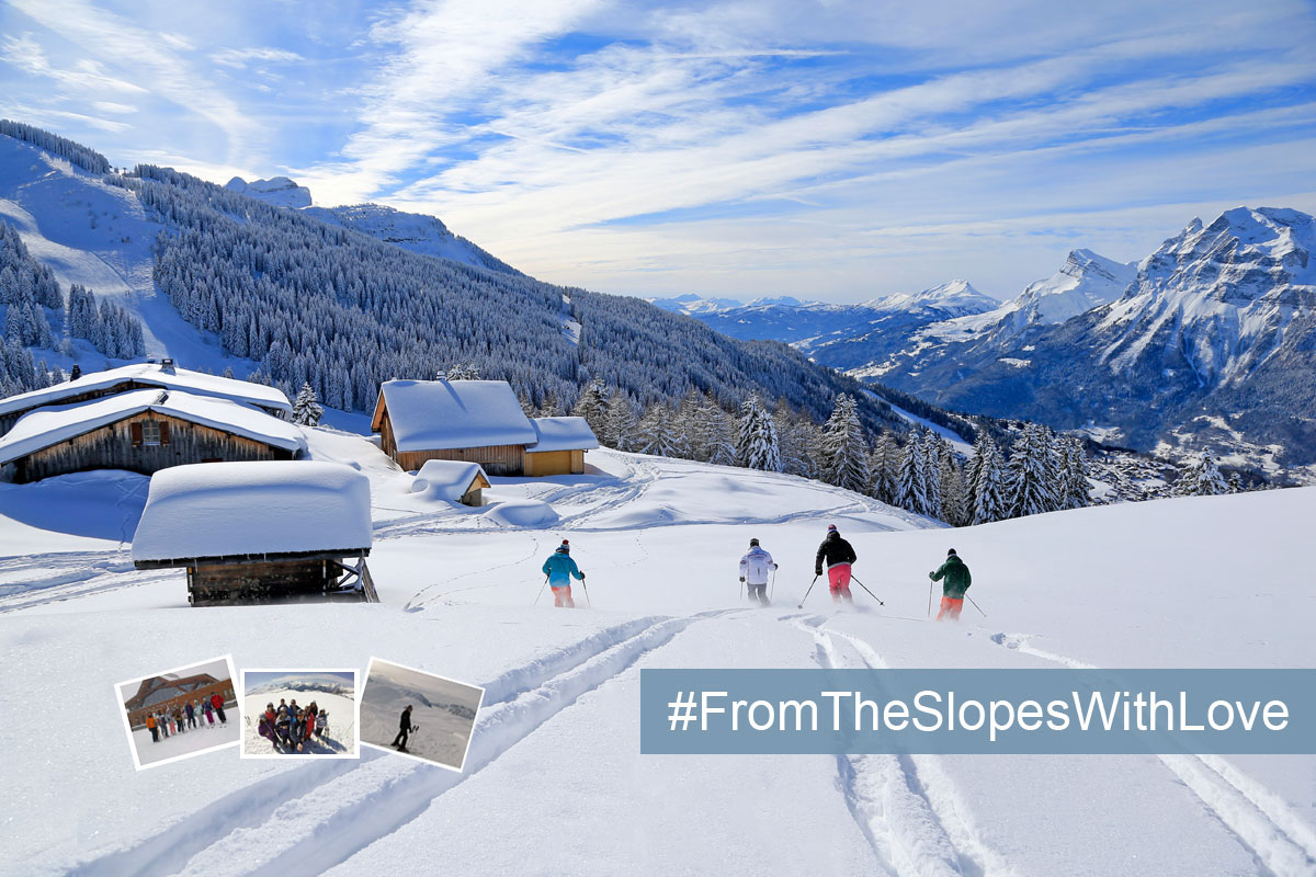 From the slopes with love photo competition