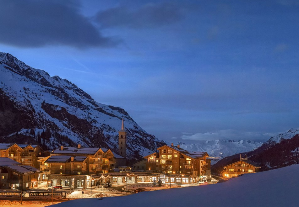 Kalinda, Tignes 1800 (self catered apartments) - Ski back to residence