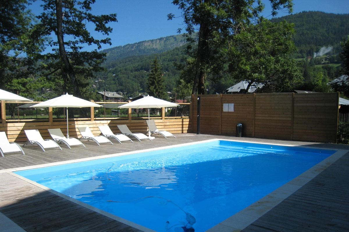 Chalet Rose, Samoens (Grand Massif) - Outdoor Pool (Summer only)