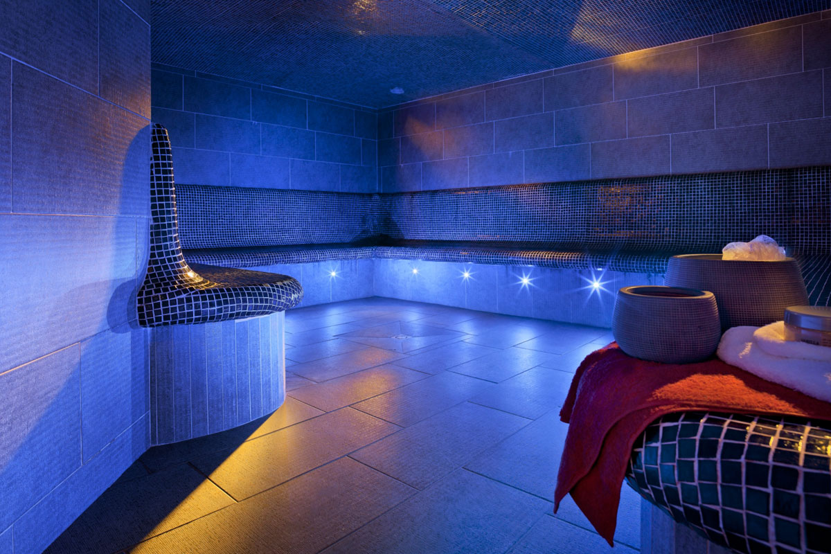 Les Chalets du Jouvence, Les Carroz (self catered apartments) - Steam Room