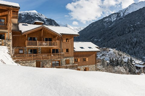 Les Alpages de Champagny, Champagny (self catered apartments) - Valley Views