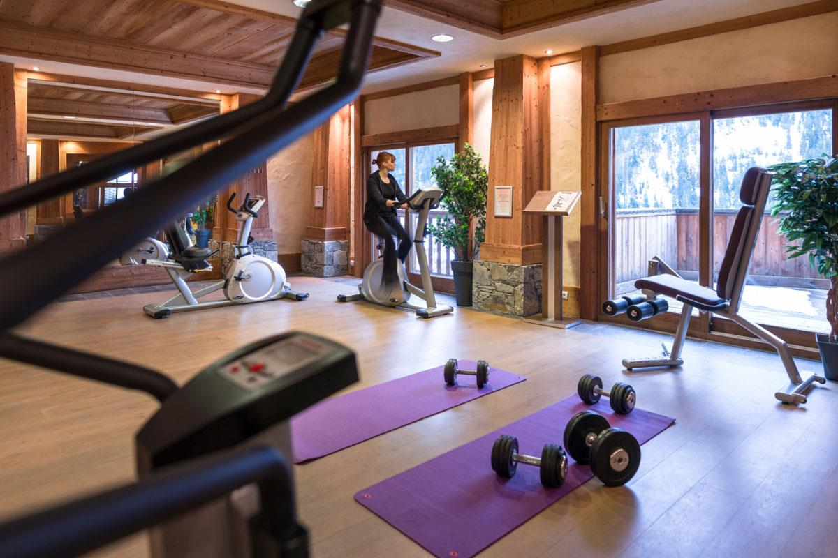 Les Alpages de Champagny, Champagny (Paradiski) - Residence Gym