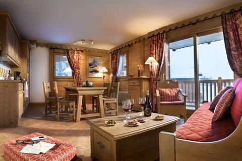 Le Coeur d'Or (Bourg St Maurice) Living Area