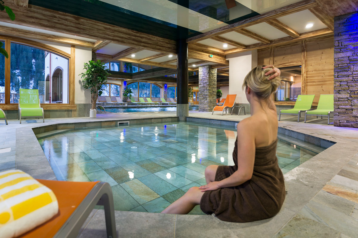 Les Chalets d'Angele, Chatel (self catered apartments) - Children's Pool
