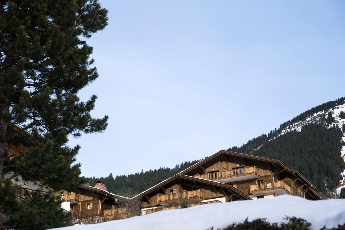 Les Chalets d'Angele, Chatel (self catered apartments) - Stylish Apartments