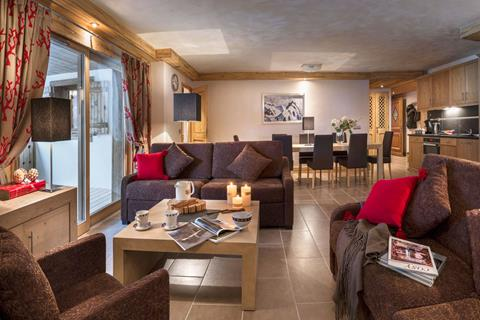 Les Chalets d'Angele (Chatel) Living Area