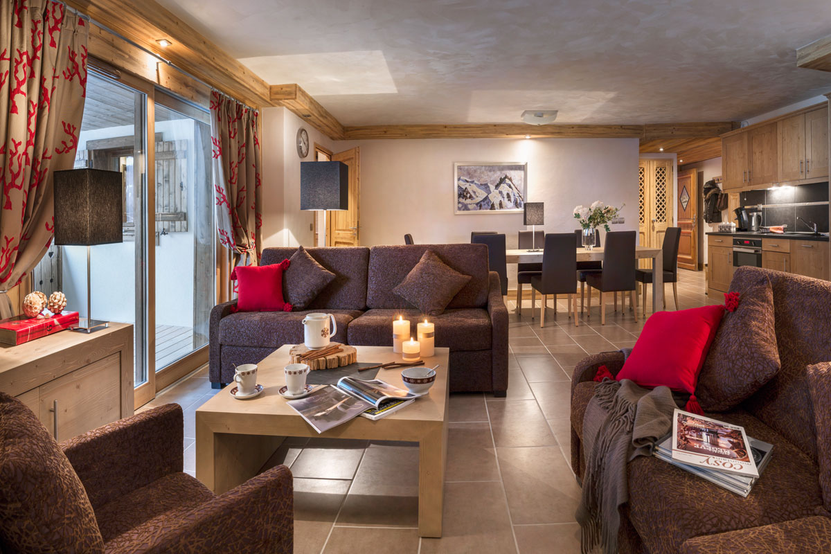 Les Chalets d'Angele, Chatel (self catered apartments) - Apartments