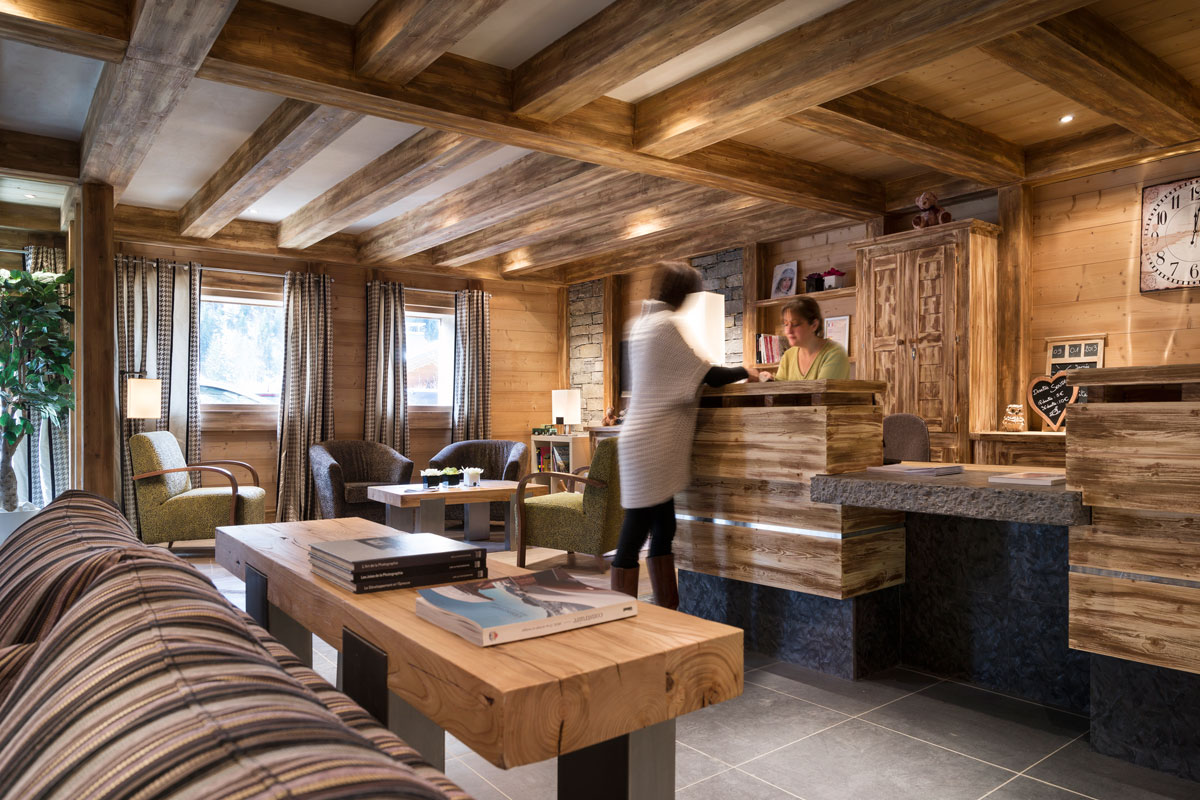 Les Chalets d'Angele, Chatel (self catered apartments) - Reception