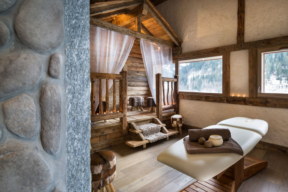 Les Chalets d'Angele, Chatel (self catered apartments) - Spa