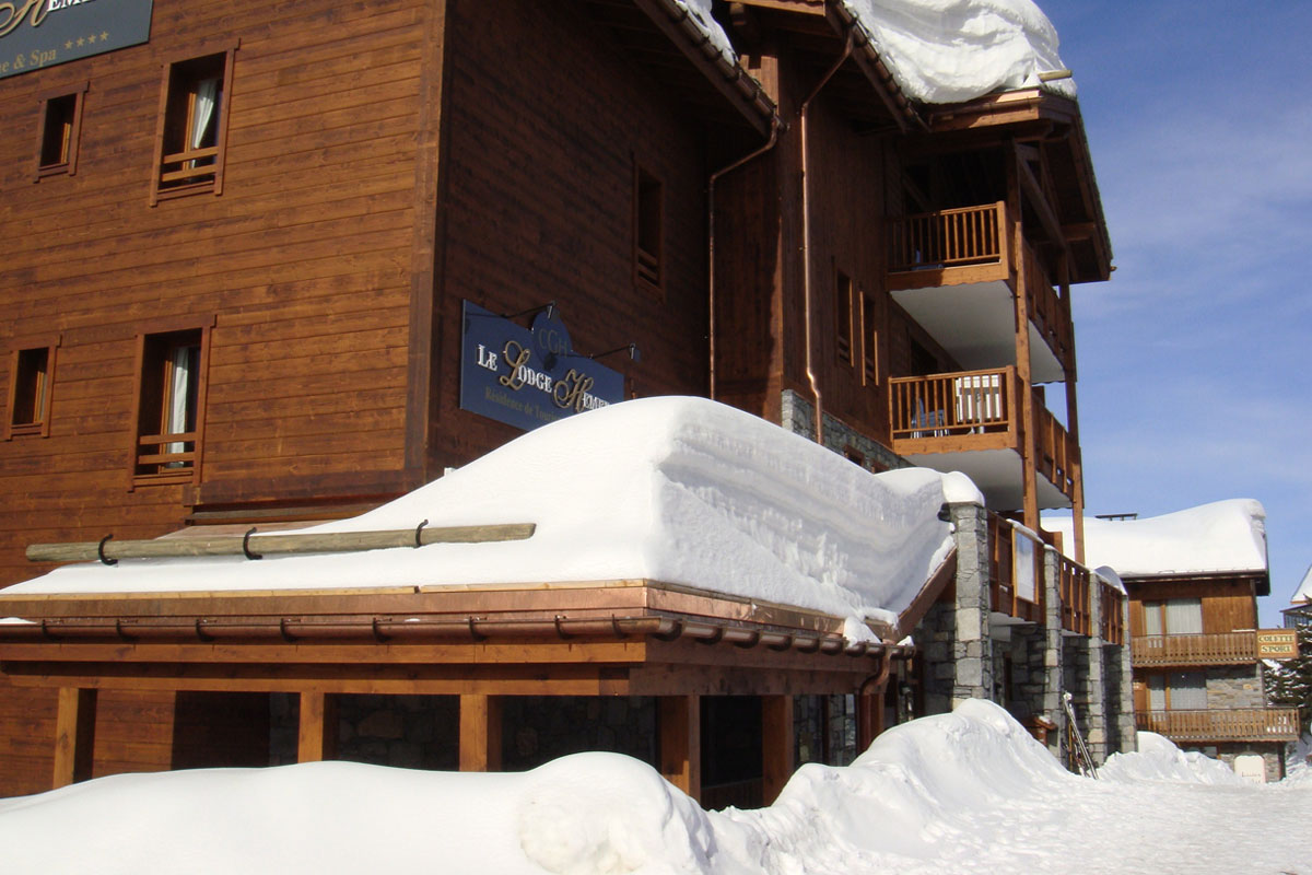 Lodge Hemera, La Rosiere (self catered apartments) - Short Walk To Lifts