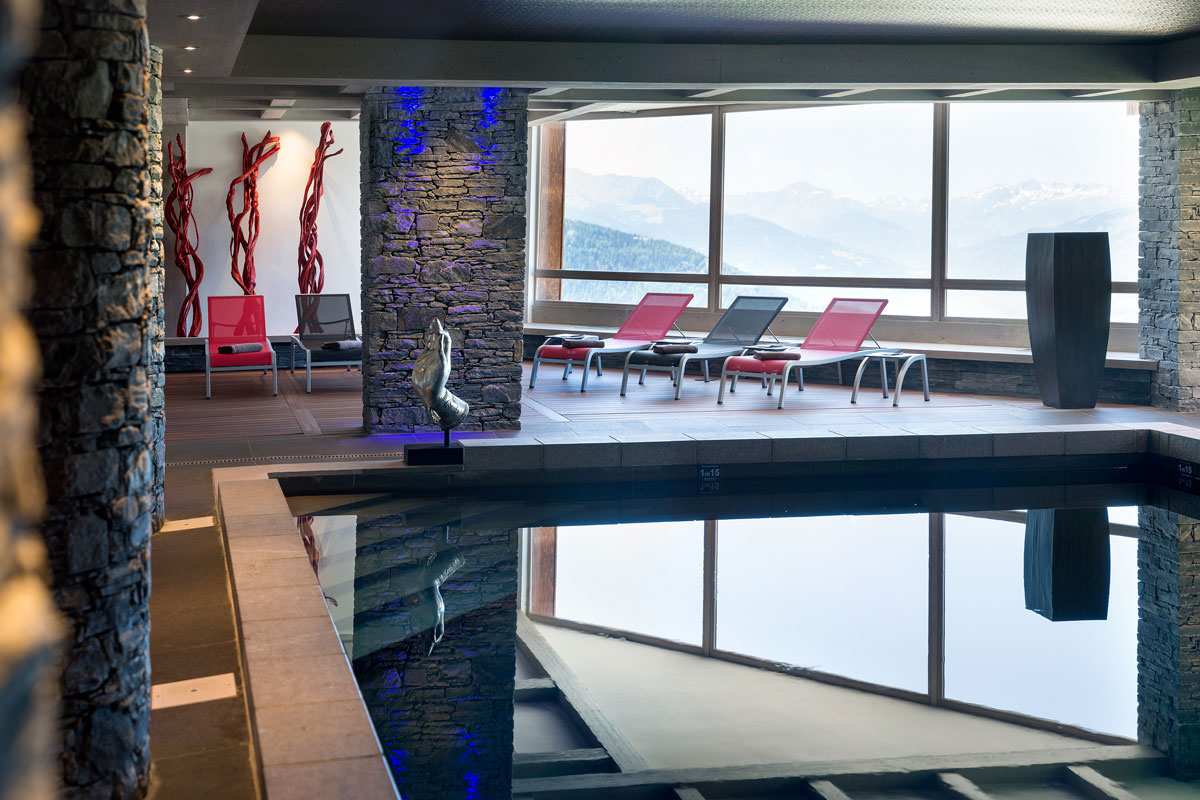 Lodge Hemera, La Rosiere (self catered apartments) - Indoor Pool
