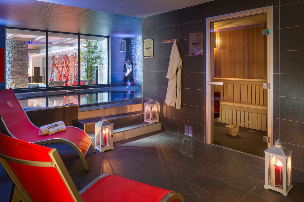 Lodge Hemera, La Rosiere (self catered apartments) - Sauna